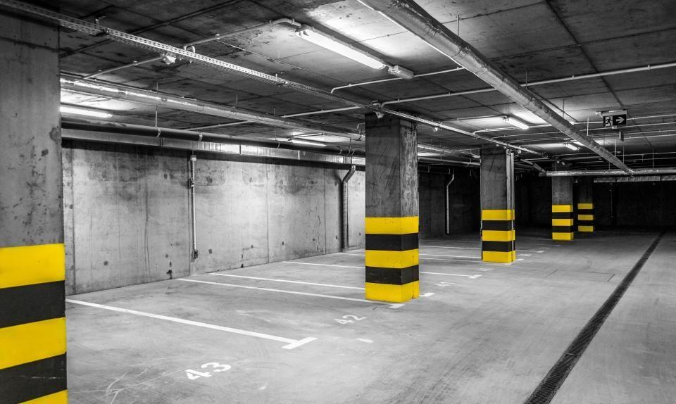 odbiór miejsca postojowego w garażu podziemnym
